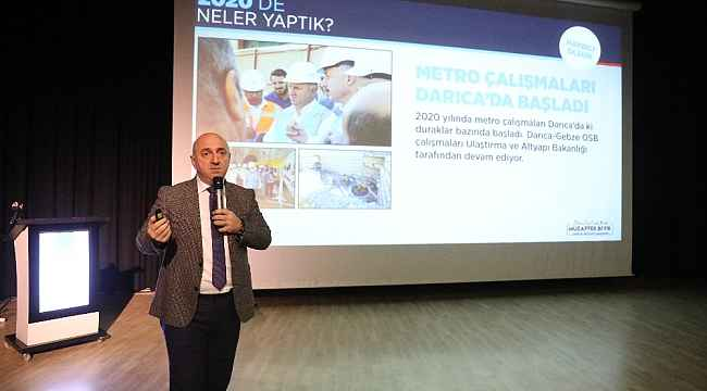Başkan Muzaffer Bıyık, Cumhur İttifakı'na çalışmalarını anlattı