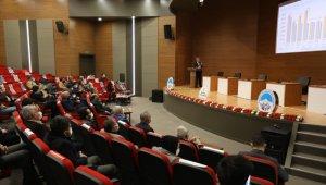 Başkan Palancıoğlu, AK Parti Melikgazi yönetim kuruluna 2020 yılında gerçekleştirilen hizmetleri anlattı
