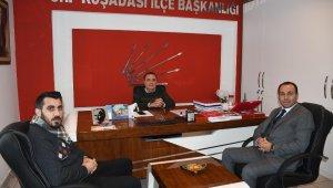 Başkan vekili Limoncu, CHP'yi ziyaret etti
