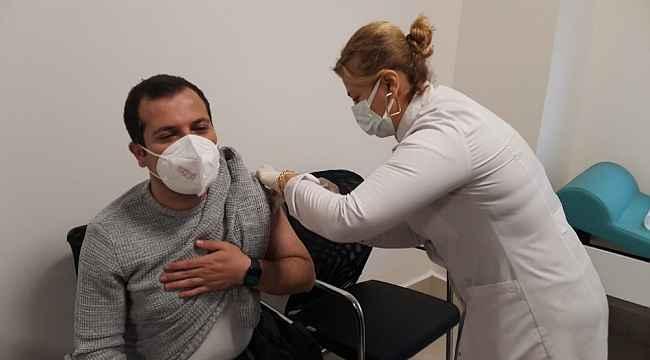 Batman'da korona aşısına başlandı