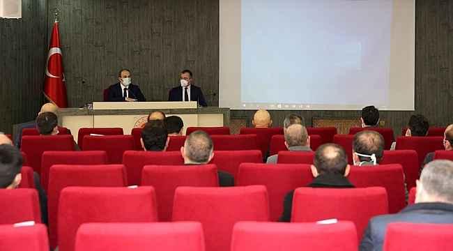 Bayburt'ta İl Koordinasyon Kurulu toplantısı yapıldı