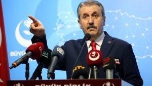 """BBP Genel Başkanı Destici: """"Şehit liderimiz Muhsin Yazıcıoğlu'nu sevgiyle, saygıyla ve özlemle anıyorum"""""""