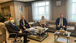 Beylikova Belediye Başkanı Alp'ten TOKİ Başkanı Bulut'a teşekkür ziyareti