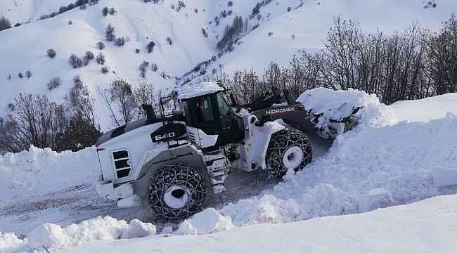 Bingöl'de 281 köy yolu ulaşıma açıldı
