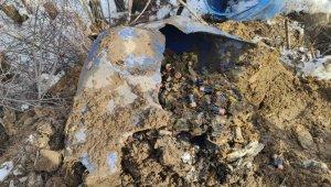 Bitlis kırsalında 450 adet pil ele geçirildi