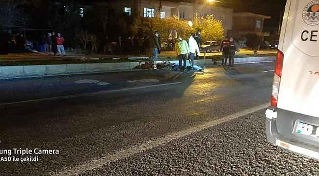 Bozyazı'daki trafik kazasında motosiklet sürücüsü hayatını kaybetti
