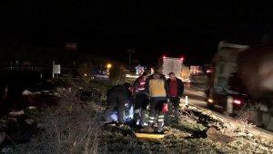 Burdur'da feci kaza: 2 ölü, 4 yaralı
