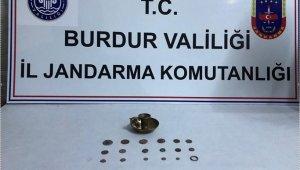 Burdur'da tarihi eser kaçakçılığı operasyonu: 1 gözaltı