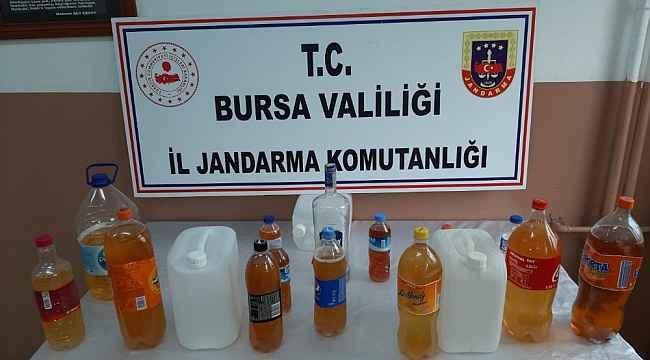 Bursa'da kaçak içki operasyonu: 1 gözaltı - Bursa Haberleri