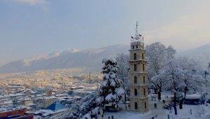 Bursa'da kar başka güzel