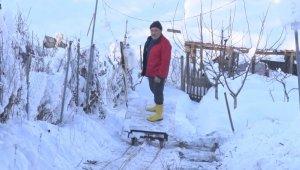 Bursa'da sevdiği kadın için dağa 70 metrelik teleferik yaptı - Bursa Haberleri