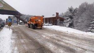 Bursa'da yoğun kar yağışı etkili oldu - Bursa Haberleri