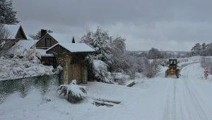 Büyükşehir'den karla kesintisiz mücadele - Bursa Haberleri