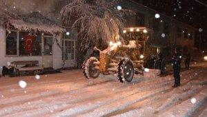 Çorum'da kar yağışı
