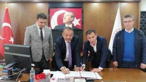 Çorum'da Türkiye'ye örnek olacak proje için imzalar atıldı