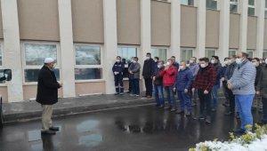 Covid-19'dan hayatını kaybeden hemşire için tören düzenlendi