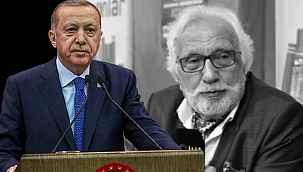 Cumhurbaşkanı Erdoğan'dan tarihçi ve yazar Yavuz Bahadıroğlu için başsağlığı mesajı