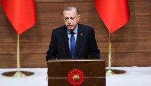 """Cumhurbaşkanı Erdoğan: """"ABD ve Çin'den sonra COVİD-19 konusunda en çok aşı projesi yürüten üçüncü ülke durumundayız"""""""