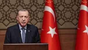 """Cumhurbaşkanı Erdoğan, sosyal medya şirketlerine sert çıktı: """"Cezalar kesilmeye başlanınca kuzuya döndüler"""""""