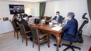 DAKA Yönetim Kurulu Toplantısı Vali Bilmez başkanlığında yapıldı