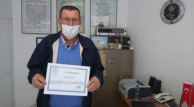 Datça'da, muhtarlara Kovid-19 mücadelesi teşekkürü
