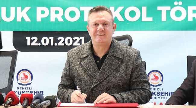 Denizlispor'a sanal destek