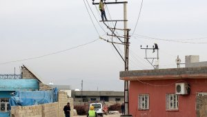 Dicle Elektrik'ten Artuklu'da 7 milyon liralık şebeke yatırımı