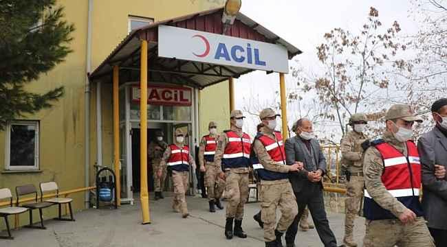 Terör örgütüne yardım ve yataklık eden 7 kişi gözaltına alındı