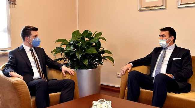 """Dündar: """"Bosna'nın kalbimizdeki yeri bir başka"""" - Bursa Haberleri"""