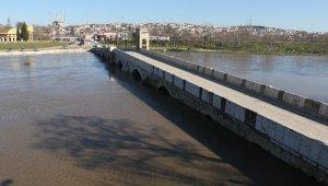 Edirne'de taşkın riski sona erdi