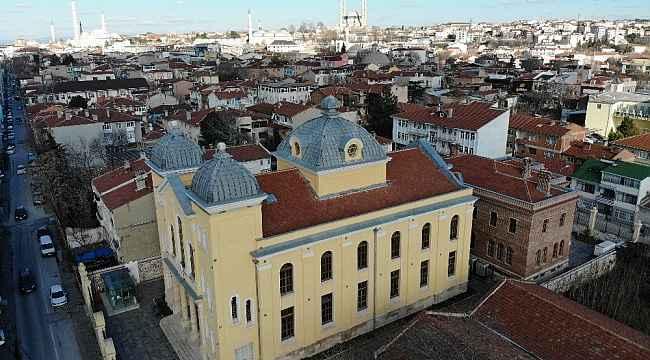 Edirne'deki Avrupa'nın üçüncü büyük sinagogu 5 yıldır katılımcılarını ağırlıyor