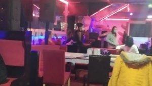 Eğlence mekanına baskın yapıldı, 15 kişiye 47 bin lira ceza uygulandı