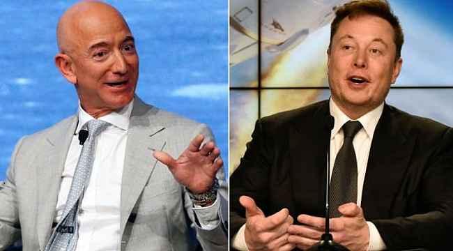 Elon Musk bir günde 14 milyar dolar kaybetti, dünyanın en zengini yeniden Jeff Bezos oldu