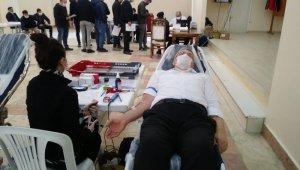 Emet'te kan bağışı kampanyası