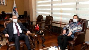 Endonezya Cumhuriyeti Ankara Büyükelçisi Iqbal Mersin'de