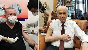 Erdoğan, Bahçeli ve Akşener koronavirüs aşısı yaptırdı, Kılıçdaroğlu'nun ise bir şartı varmış