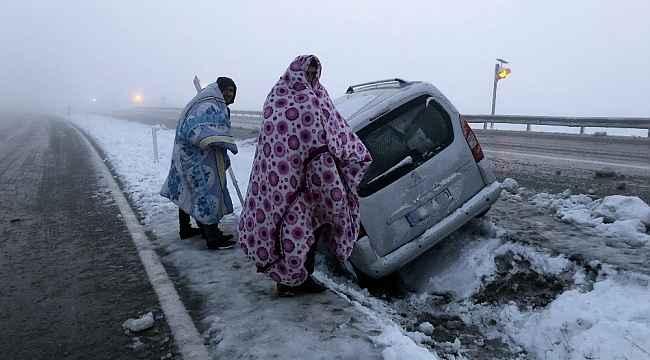 Erzincan için kar ve fırtına uyarısı