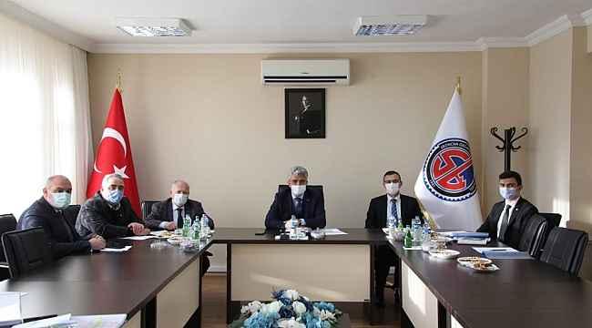Erzincan OSB Yönetim Kurulu Toplantısı yapıldı