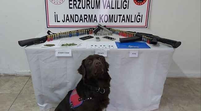 Erzurum'da uyuşturucu operasyonu: 1 tutuklama