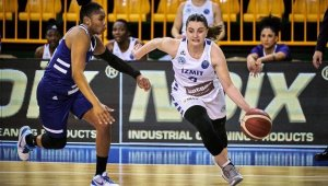 EuroLeague Woman: İzmit Belediyespor: 61 - Dynamo Kursk: 65