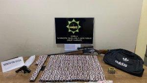 Eve operasyonda 5 bin 254 adet uyuşturucu hap bulundu