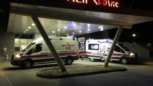 Fabrika işçisi 11 metreden düşerek ağır yaralandı
