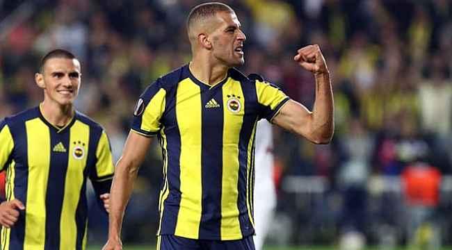 Fenerbahçe'nin eski golcüsü Islam Slimani, Olympique Lyon'a transfer oldu