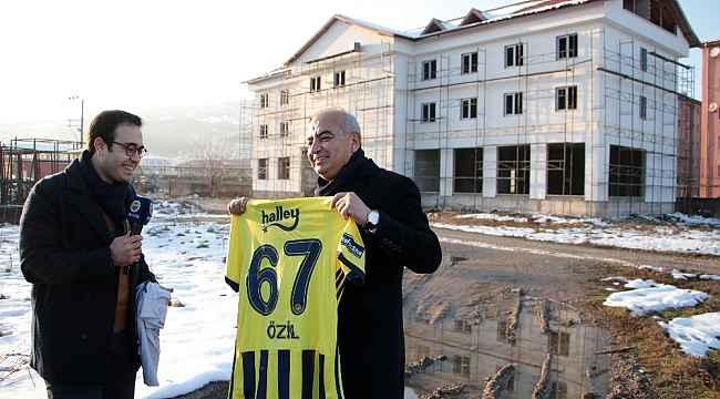 Fenerbahçe TV, Mesut Özil çekimleri için Devrek'e geldi