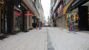 Feridun Özbay Caddesi çalışmalarında sona gelindi