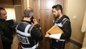 Fuhuş operasyonunda 2 adreste 5 kişiye 4 bin 300 TL idari para cezası