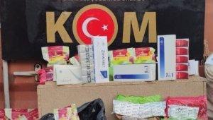 Gaziantep'te kargo ile kaçak sigara sevkiyatına darbe