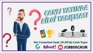 GBB'den genel kültür temalı ödüllü online bilgi yarışması