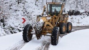 Gemlik Belediyesi'nin kar mesaisi sürüyor - Bursa Haberleri