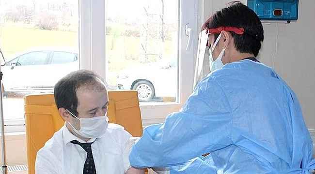 Gerze'de ilk aşılar vuruldu